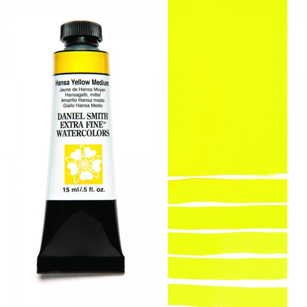 Hansa Yellow Medium Serie 2 Watercolor 15 ml. Daniel Smith