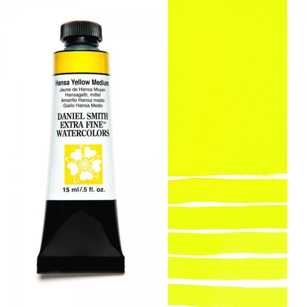 Hansa Yellow Medium Serie 2 Watercolor 15 ml. Daniel Smith Aquarelverf