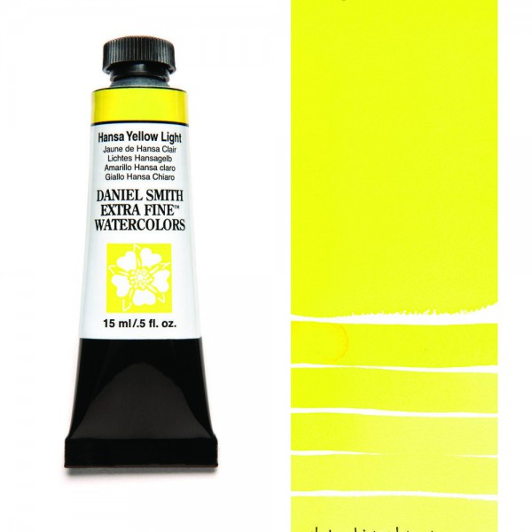 Hansa Yellow Light Serie 1 Watercolor 15 ml. Daniel Smith