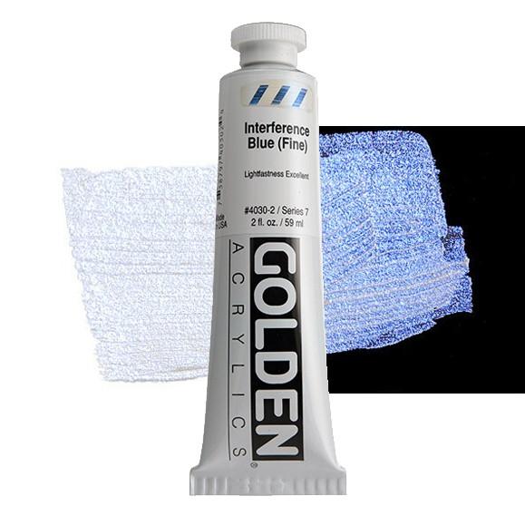 Heavy Body 4030 S7 Interfence Blue (Fine) Golden 60ml