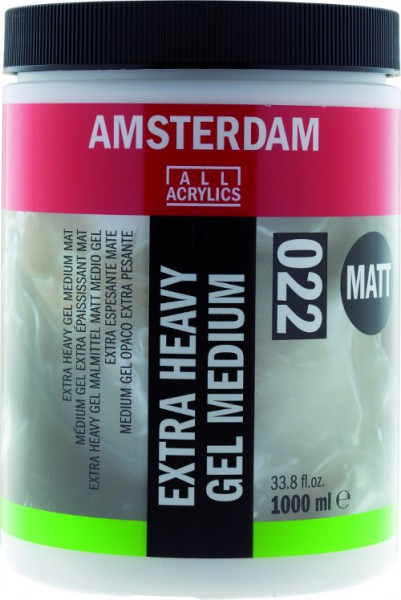 Amsterdam Extra Heavy Gel Mat Medium 022 1000ml