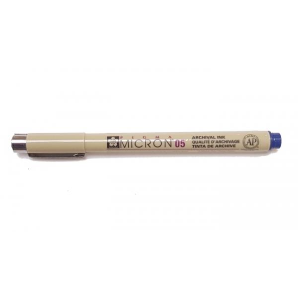 Pigma Micron 05 (0.45mm) BLUE #36 Sakura Fineliner