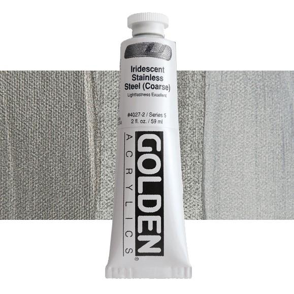 Heavy Body 4027 S5 Iridescent Stainless Steel (Coarse) Golden 60ml