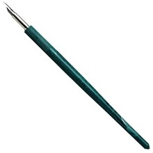 Omkeerpennetje (Penhouder met 'kroontjes' pen) Inkt Kroontjespen
