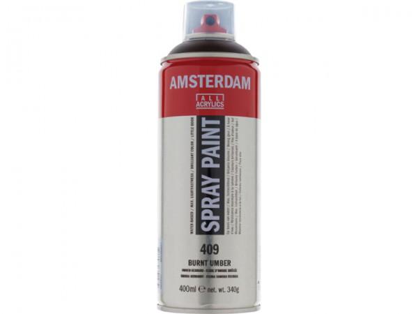 Amsterdam spray paint 400 ml Omber gebrand D 409