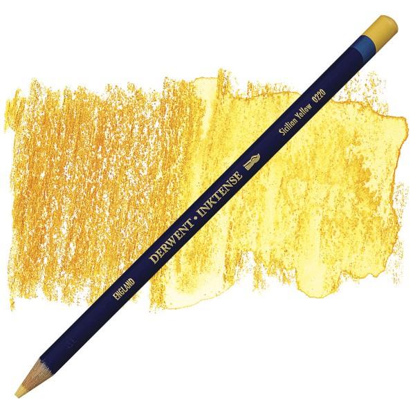 Inktense Sicilian Yellow 0220 Derwent
