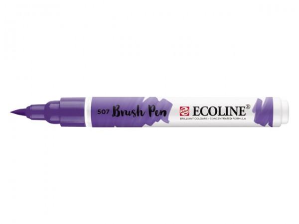 Ecoline Brushpen 507 Ultramarijn violet