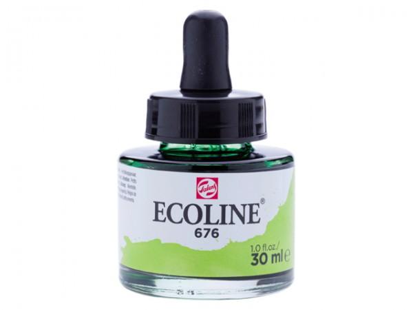 Talens ecoline inkt 30ml - 676 Grasgroen