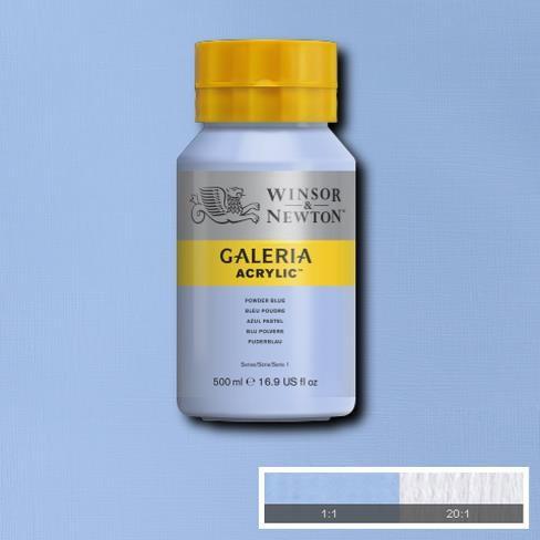 Galeria Acryl 500ml 446 S1 Powder Blue