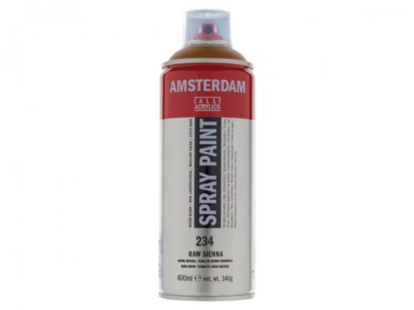 Amsterdam spray paint 400 ml Sienna naturel D 234