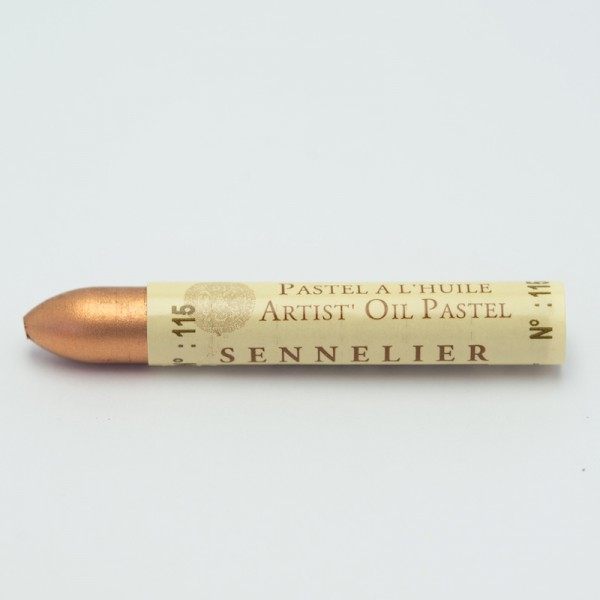 Koperrood 115 oliepastel Sennelier 5ml