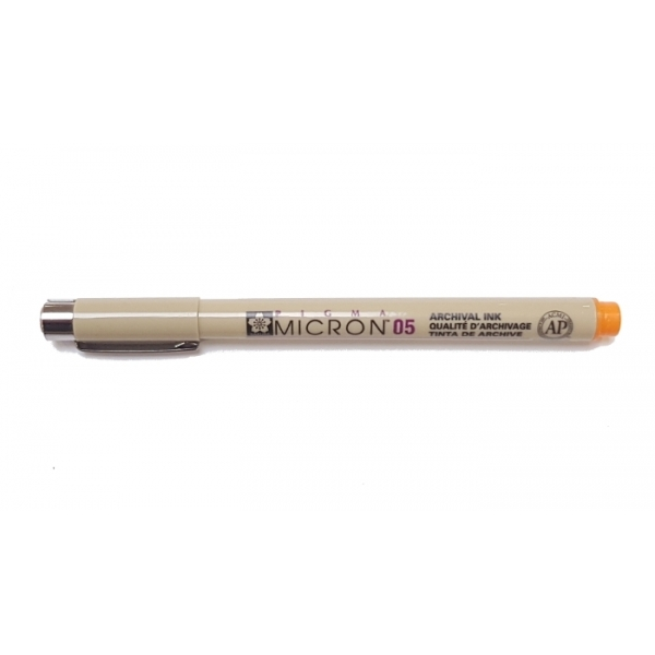 Pigma Micron 05 (0.45mm) ORANGE #5 Sakura Fineliner