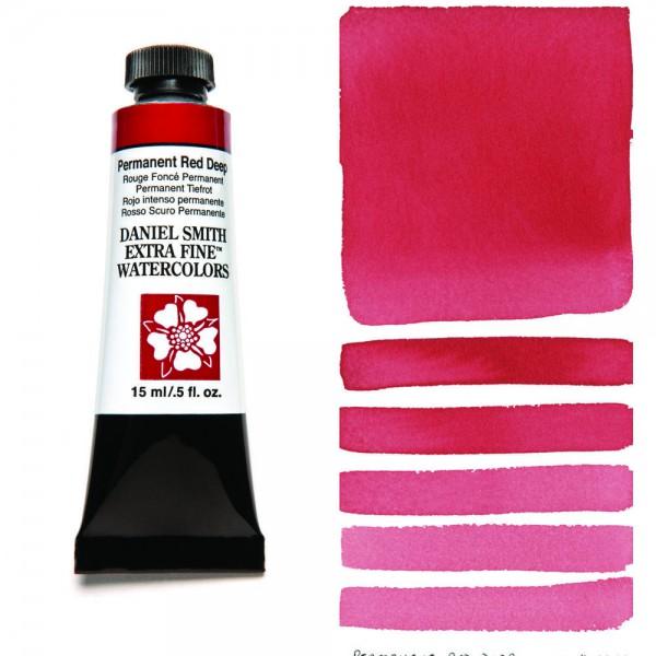 Permanent Red Deep Serie 1 Watercolor 15 ml. Daniel Smith