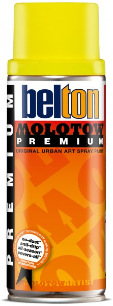 232 neon yellow 400 ml Molotow Premium Belton