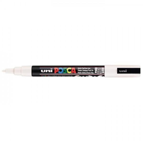 Posca verf stift PC3M Wit Paint marker