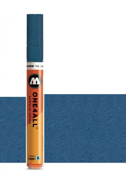 Molotow One4All Acryl Marker 227HS 4mm METALLIC BLUE Paint marker