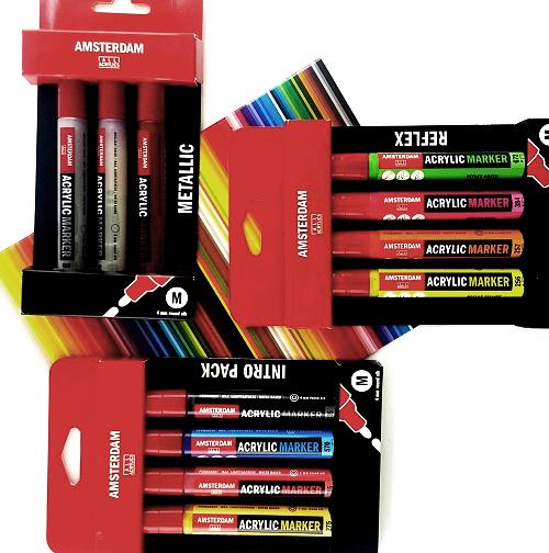 Amsterdam Paint Markers accessoires & sets