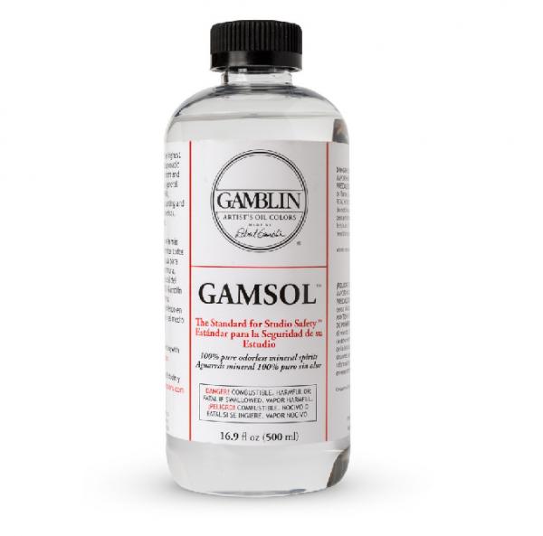 Gamsol 500 ml natuurlijke Terpentine vervanger Gamblin