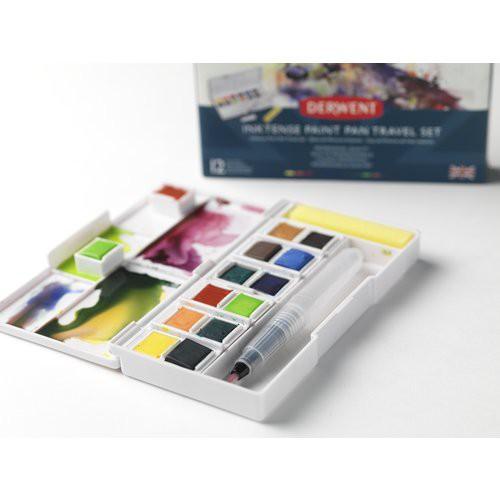 Derwent Inktense paint pan travel set #1 Aquarelverf