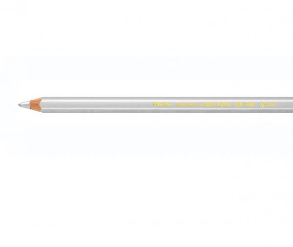 Metallic Zilver 494.710 Maxi Kleurpotlood Caran d'ache