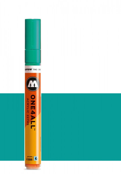 Molotow One4All Acryl Marker 227HS 4mm LAGOON BLUE Paint marker